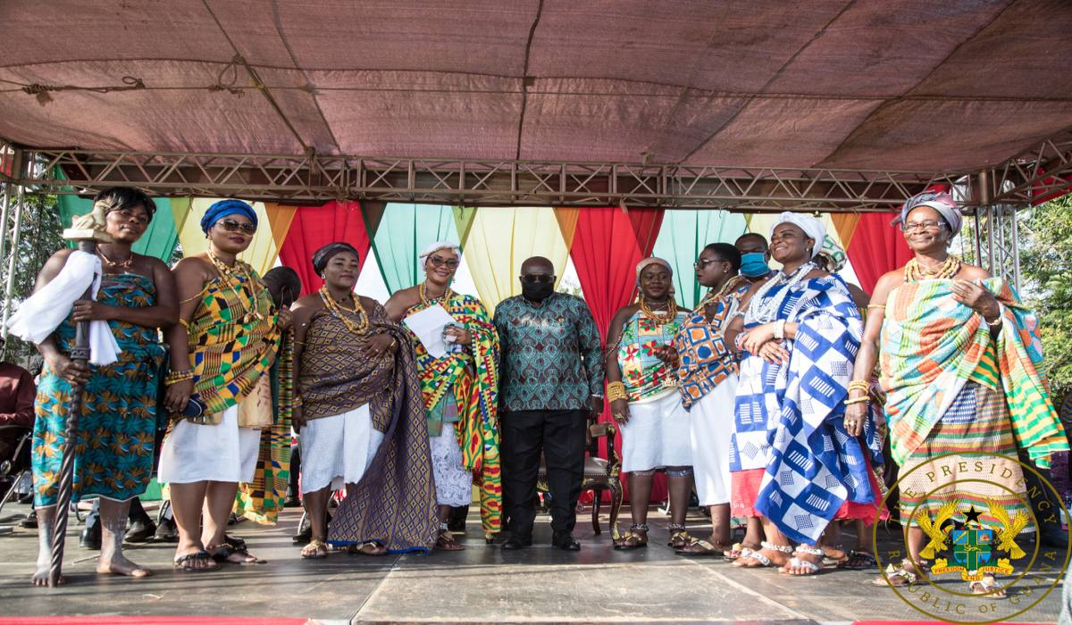 """You're A Competent, Compassionate, Visionary Leader"" – Volta Chief To President Akufo-Addo"